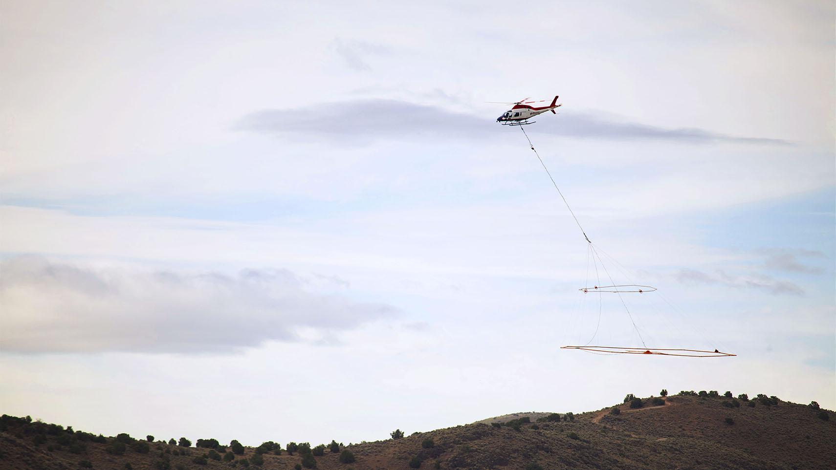 VTEM Flying in Nevada