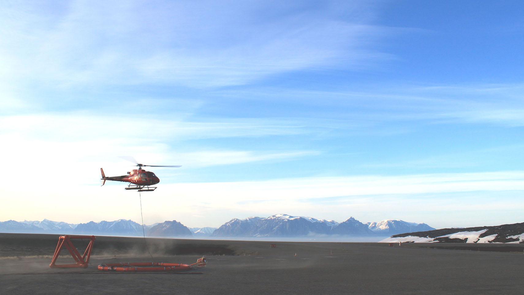 ZTEM System in Greenland