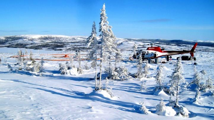 VTEM™ amongst a fresh snowfall