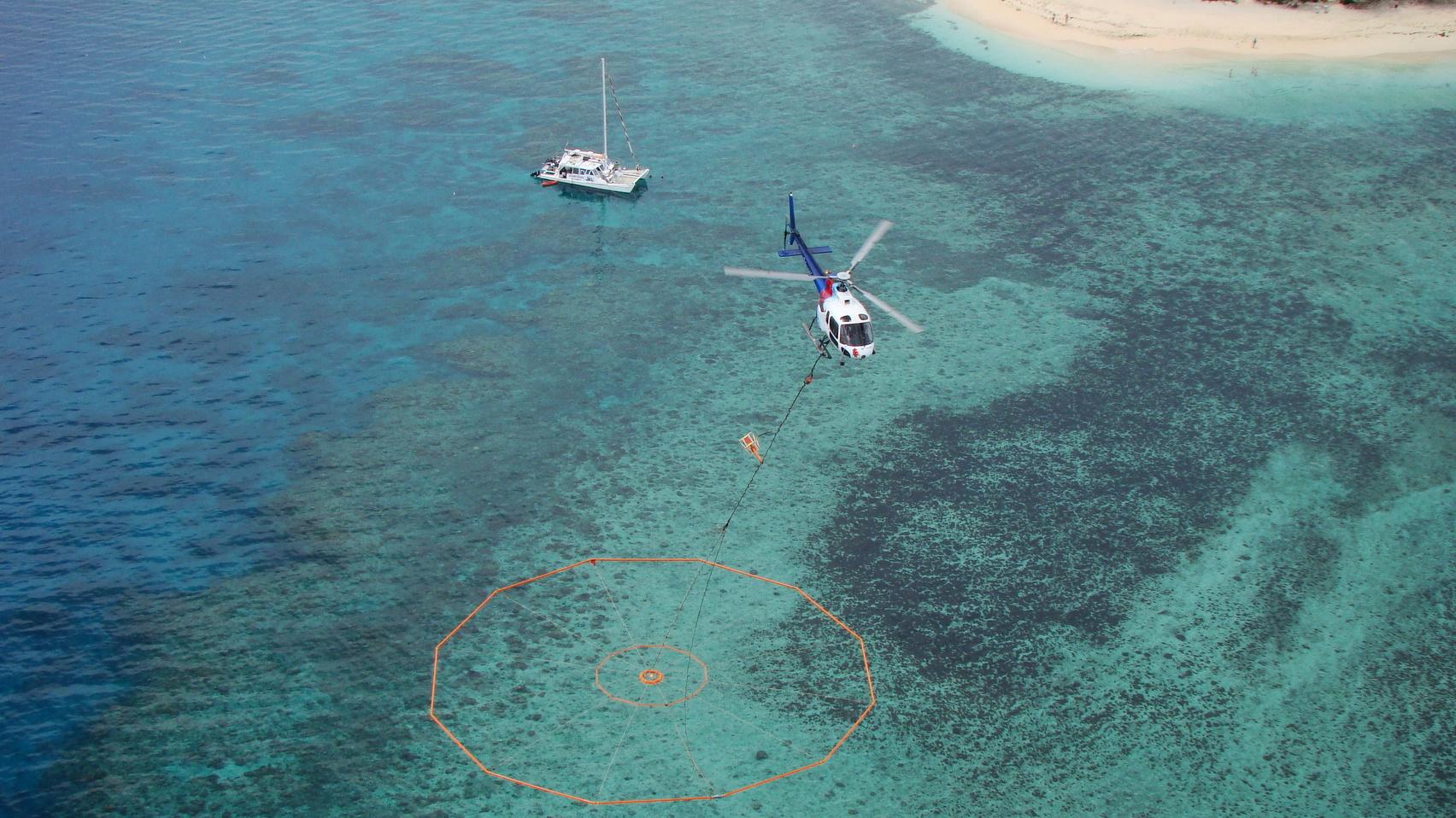 VTEM on survey in Fiji