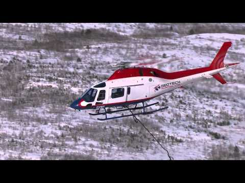 Agusta Koala AW119 flying a VTEM™ max survey