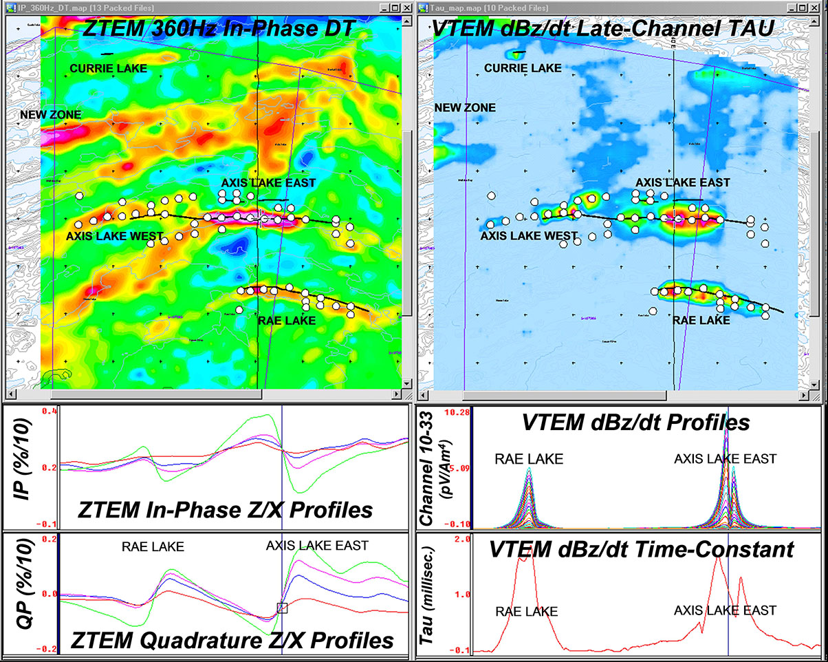 Ztem airborne tipper afmag test survey over a magmatic for Soil zones saskatchewan