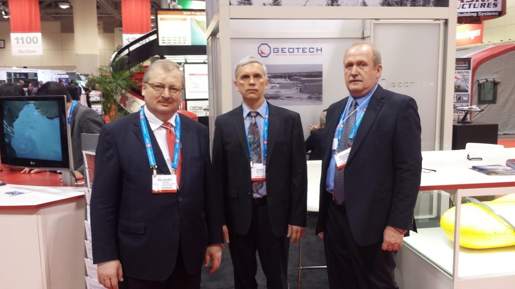 Alexander Daricev (left), Andrei Bagrianski (middle) and Alexander Prikhodko