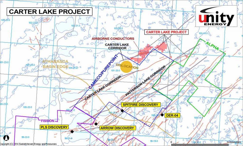 Carter Lake Project - Unity Energy Corp.