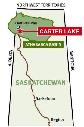 Carter Lake Project - Unity Energy Corp. - Uranium - West Athabasca Basin, northern Saskatchewan