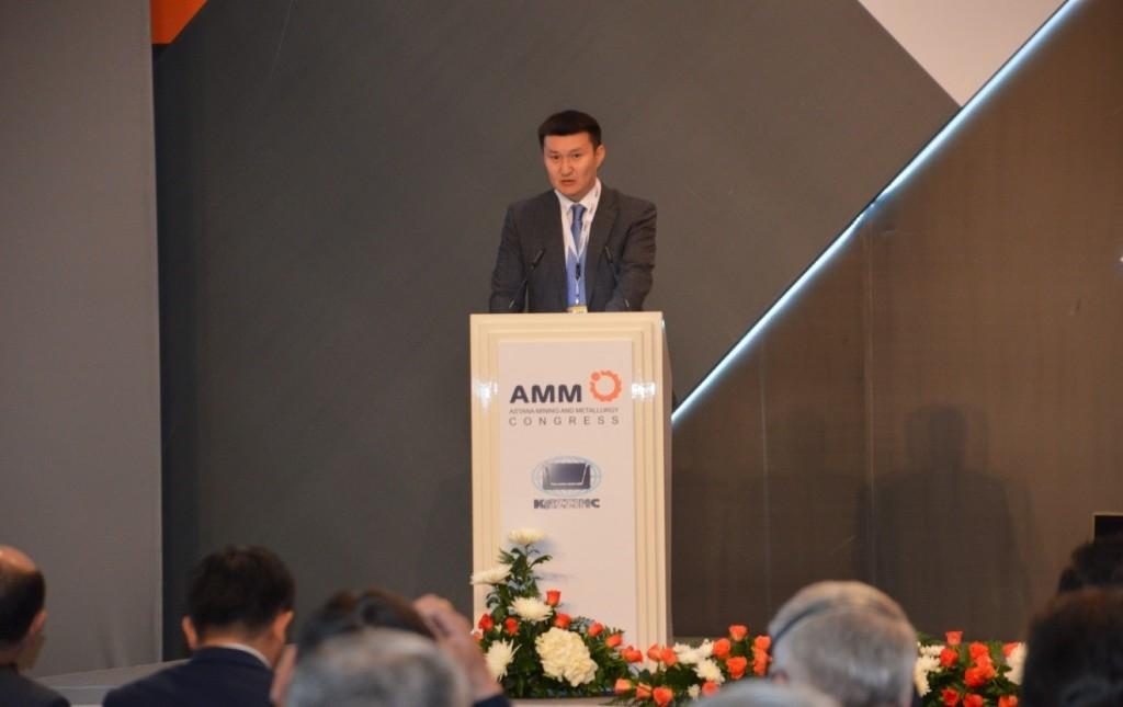Galym Nurzhanov AMM 2015 Kazgeology