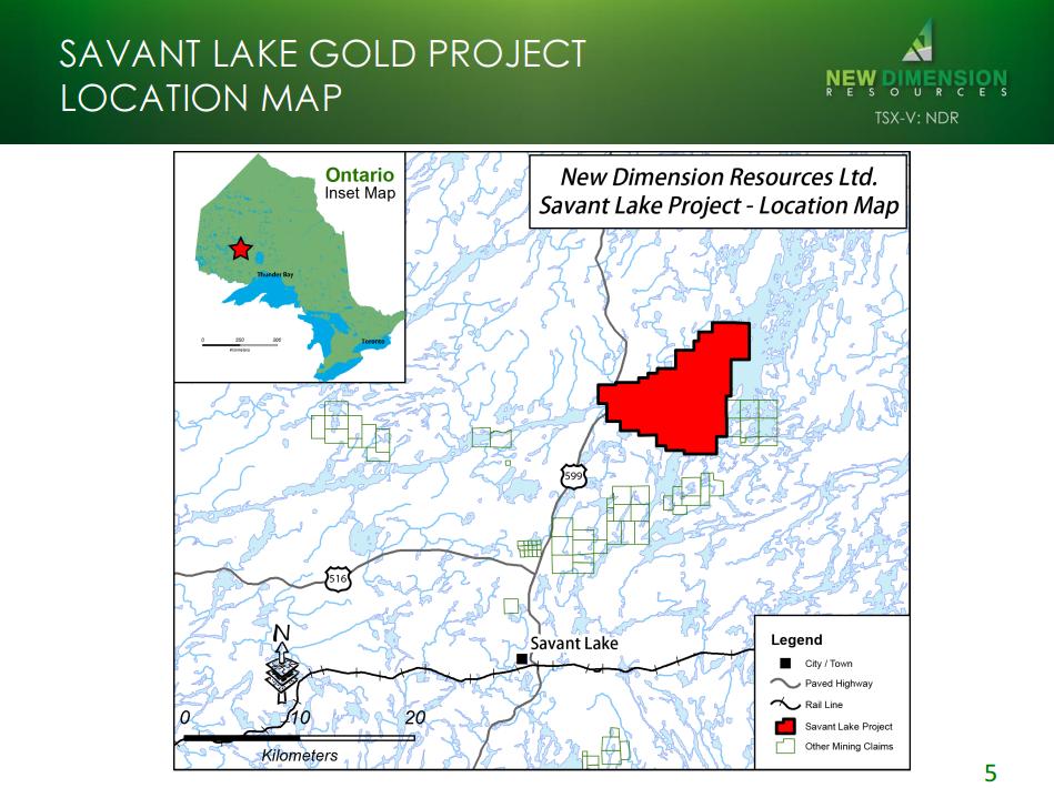 New Dimension Resources - Savant Lake