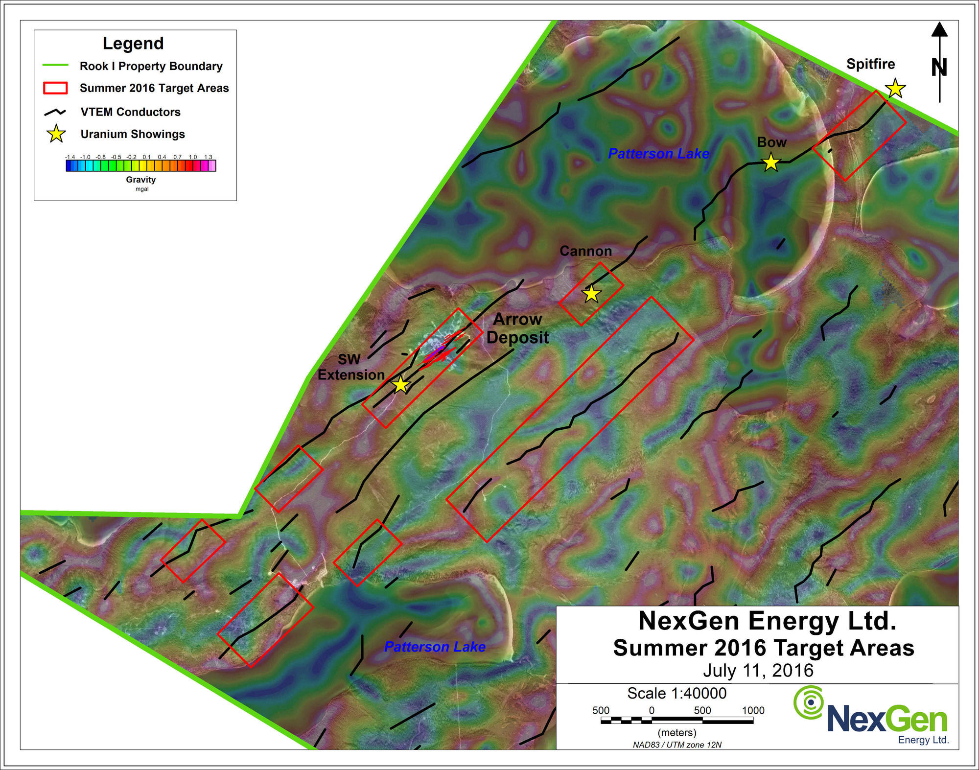 NexGen Energy Ltd - NexGen Commences 35-000 m Drill Program