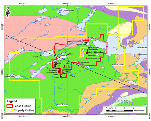 Copper Lake Resources - Marshall Lake