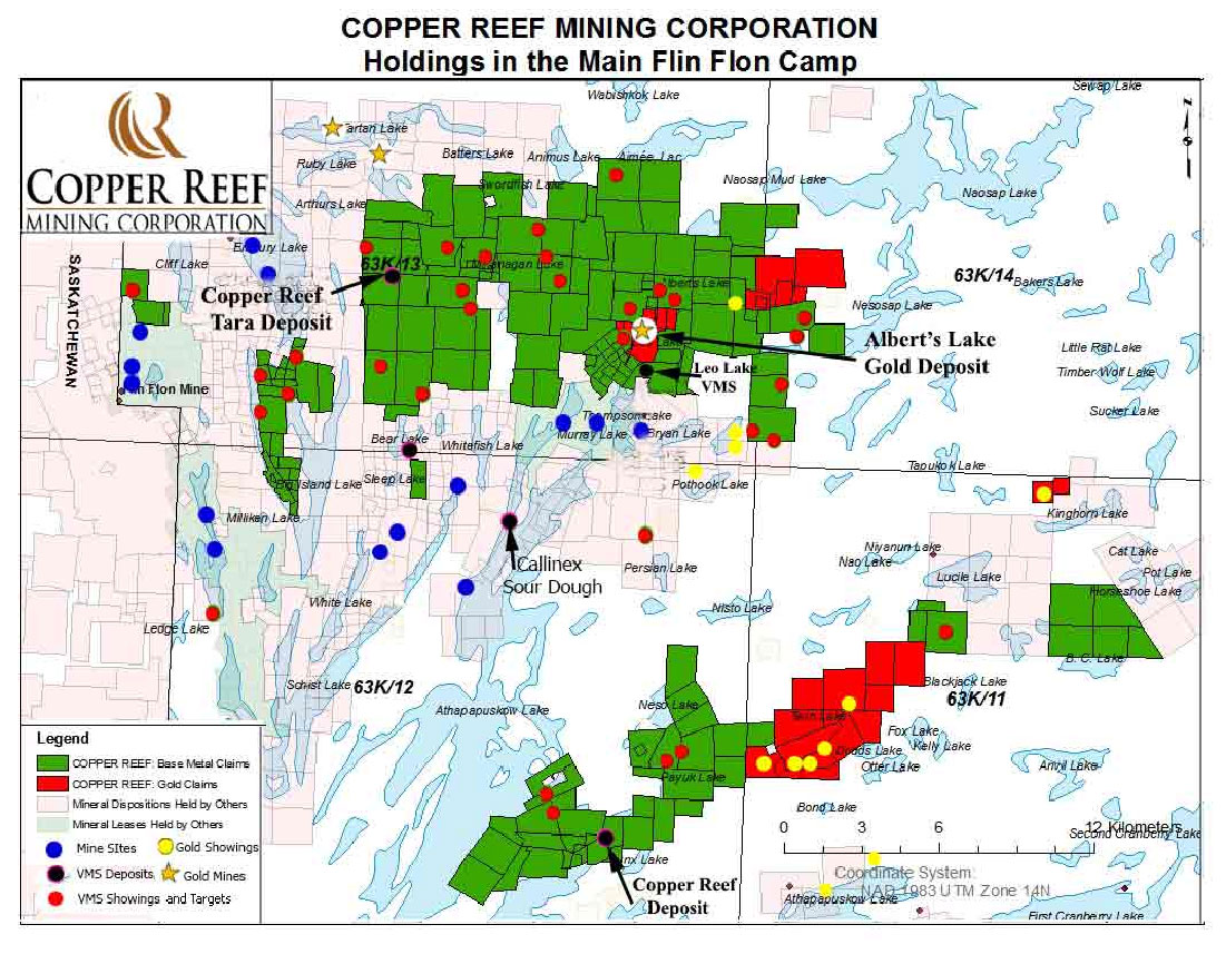 Copper Reef Holdings Map